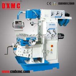 DXMC fast-moving Rotary table vertical and horizontal universal milling machine LM1450A mechanical cutting device