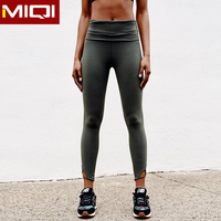 Professional womens running and sport clothing wholesale custom made yoga spandex leggings