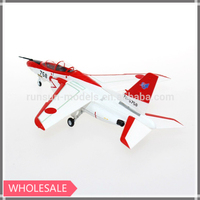 1:100 scale Kawasaki T-4 Red Dolphine die cast toy plane model