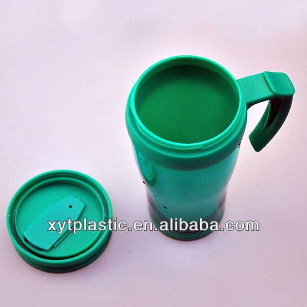 Double insulated plastic cups