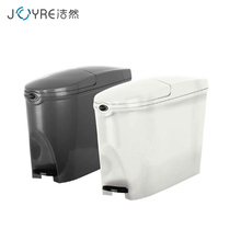 20l women toilet square plastic foot pedal lady waste sanitary pad disposal bin china