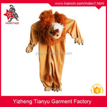 wholesale animal mascot costumes for kids/halloween onesie