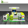 best selling round phone display kiosk | phone booth in mall for USA