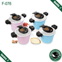 aluminum 25cm 28cm multi funtion micro pressure cooker ceramic round clay pots