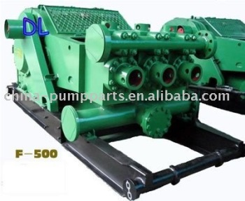 EMSCO/BOMCO F500 triplex drill mud pump