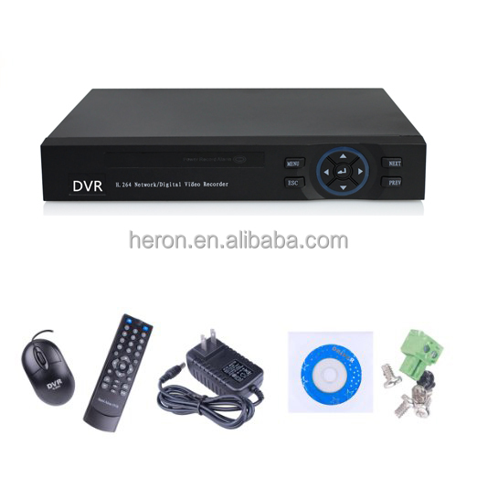 P2P 1080P 4ch DVR full 960H HVR AHD DVR NVR video surveillance system 4 channel network DVR video recorder