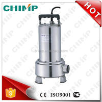 CHIMP WQD Series 750w WQD10-10-0.75B Whole Stainless steel Set Water Submersible Pump