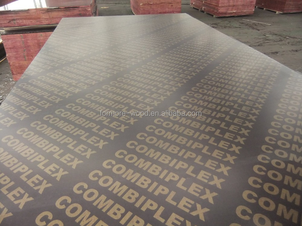 Phenolic Structural 18mm Concrete Formwork Film Faced Plywood