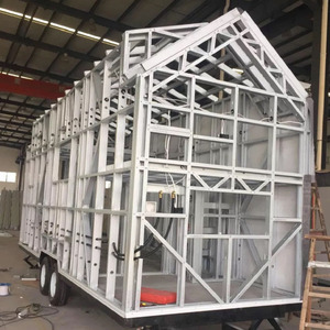 Prefabricated Movable home Trailer House With High Quality Made in China