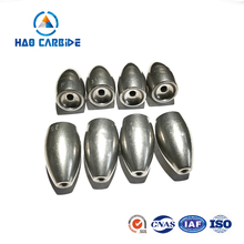 Wholesale Tungsten Worm Weight Bullet and Fishing Sinker Molds Made in China