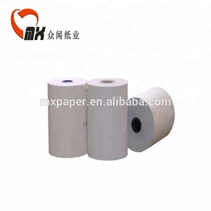 Customized professional cheap 75x60 2 ply carbonless ncr paper