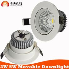 European Home Decorative High Power LED Ceiling Lightings 5W CE RoHS