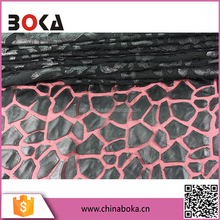 Factory Price Leather & Mesh Fabric