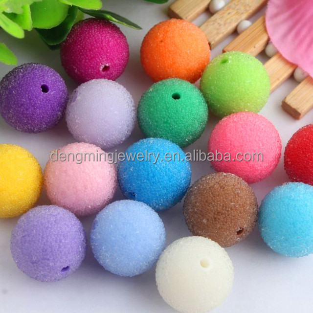 AAA Quality Wholesale 20mm large resin glass rhinestone berry bubblegum ball seed charm beads for kids jewelry making!!