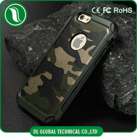 New Arrival Camouflage Mobile Cover for iPhone 6 Leather Case Extreme Drop Protective Case for iPhone 6 Leather Case