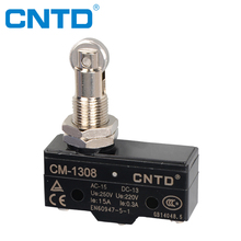CNTD Profeesional Manufacturer 1NO1NC Roller Plunger Micro Door Switch Z-15GQ22-B (CM-1308)