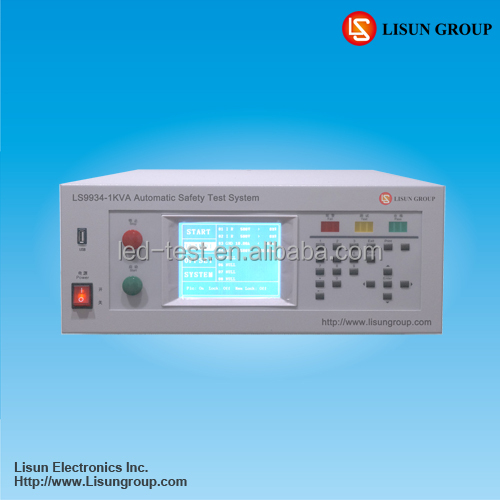 Lisun LS9934 Electric Safety Tester Test Withstand Voltage (ACW), Insulation Resistance (IR), Leakage Current (LLC) and so on