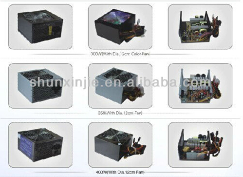 300W Rating Power Stock Products Status PC Switching Power Supply