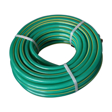 Cheap green color pvc flexible water pipe