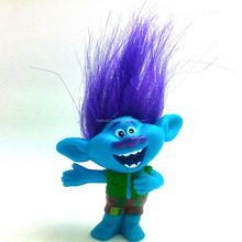 Branch new troll doll 6 cm PVC figure movie