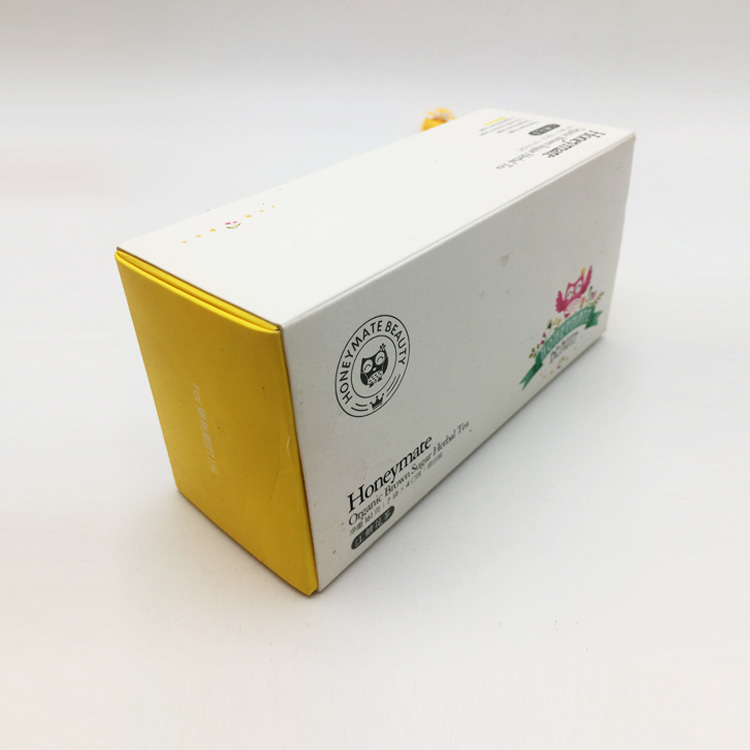 Factory price custom recycled drawer paper box with logo printing