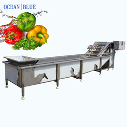 Industry use water cooling machine for vegetables