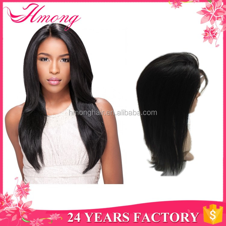 Qingdao top quality full lace wig cheap price long human hair weave darling hair extension