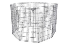 Cheap easy assemble wire dog pen pet pen rabbit playpen wholesale