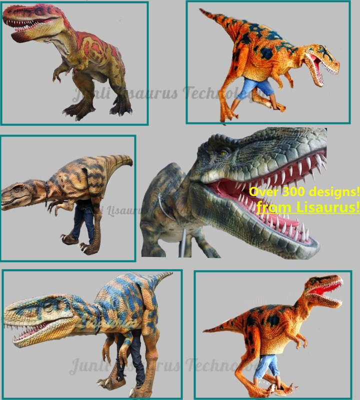 Lisaurus-CH1007 mechanical dinosaur costume professional dinosaur costume