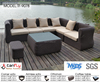 new design poly plastic cane polyethylene outdoor furniture