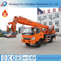 Diversified 12 tons mobile workshop truck crane for sale