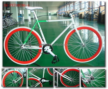 CE Appoved Steel 700C Single Speed Fixed Gear Bicycle fixie bike road bike