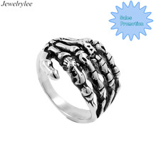 Gothic Style Ring Small MOQ Stainless Steel Hand Finger Ring Wholesale