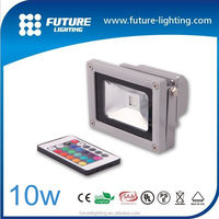 Mini 10W 50W Led Flood light Outdoor RGB For Led Commercial Application DMX controller