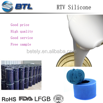 RTV liquid silicone rubber for candle mould