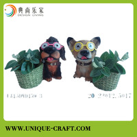 Poly resin handicraft animal decorative for home decorations