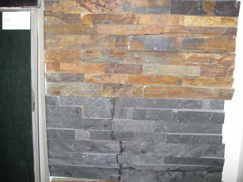 villa exterior wall tile,rough slate tile,30x60 building material nature stone wall cladding ledge stone stacked stone