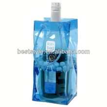2013 popular clear plastic cooler bag