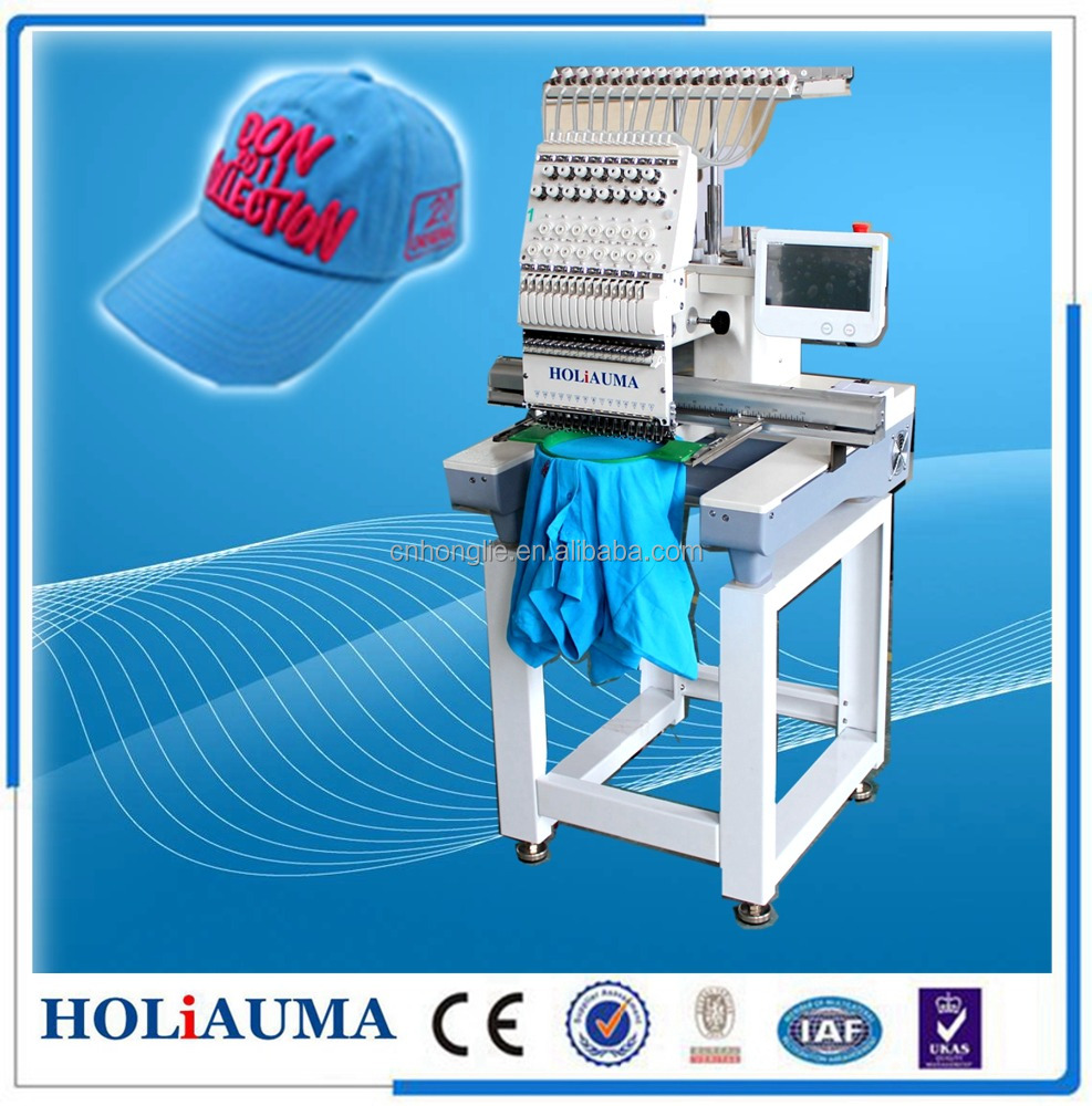 New domestic embroidery machine single head embroidery machine used good design