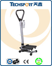 Fitness & Body Building Mini Stepper with Handlebar