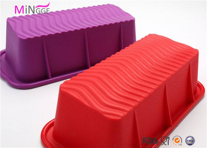 food grade hot non-stick microwave safe silicone Bundt baking mold cake pan