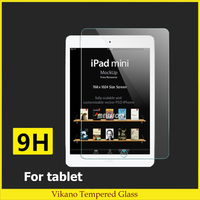 Vikano high quality tempered glass for apple ipad air 2 / ipad 6 tempered glass screen protector shockproof