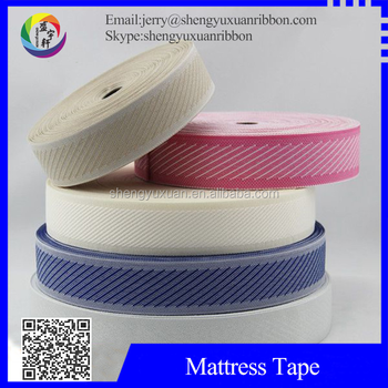 Manufacturers supply memory foam mattress webbing tape(MT-W24)