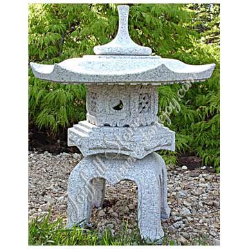 Japonais Jardin Granit Lanterne Produits En Pierre Jardin