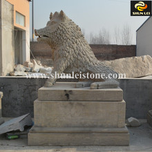 natural stone animal figures outdoor garden statues