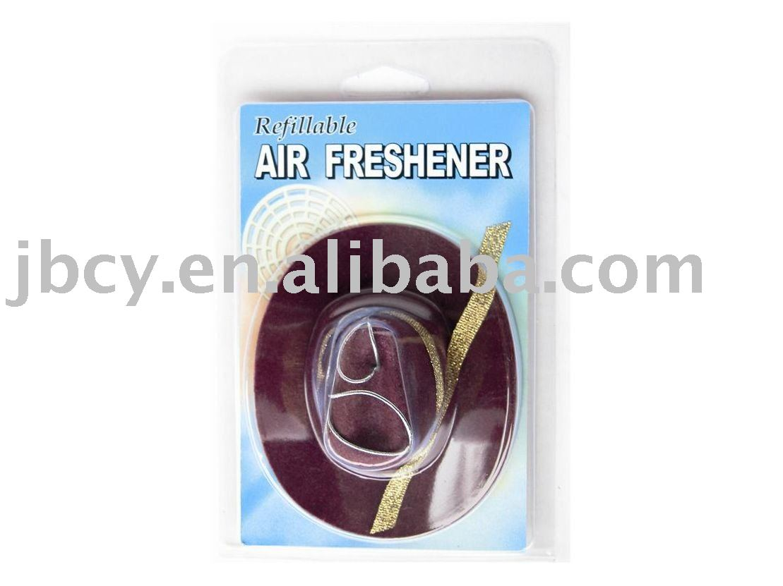 new product for 2015 mini cowboy hat air freshener for wedding, for retail
