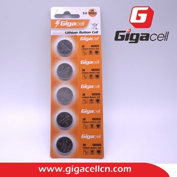 Good price! Good quality! CR2025 , 5PCS/blister Pack , Lithium Button Cell