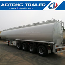 4 axle front liftable axle 54000 liters 60000 liters fuel tanker trailer