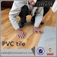 Waterproof durable healthy 4mm interlock click lvt pvc vinyl flooring