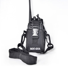 Two way radio Case radio bag for Baofeng UV 5r Walkie Talkie Accessories MSC-20A Holder Pouch Case